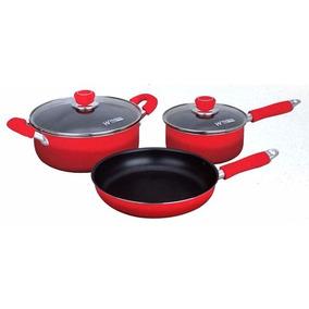 Bateria Ollas Set De Cocina 5 Piezas Hudson Valley Colores