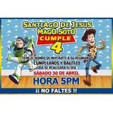 Invitaciones Infantiles Personalizadas Postales Cumpleaños
