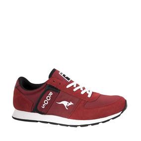Zapatos rojos casual Kangaroos para mujer ByeDm3f6u