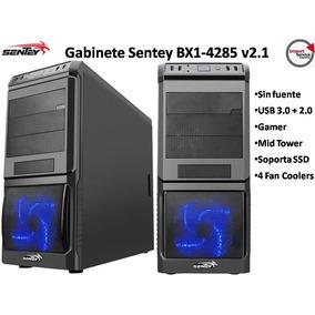 Gabinete Sentey Bx1-4285 V2.1 / Gamer/ Sin Fuente/ Mid Tower