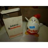 Kinder Ovo Radio Kinderino - Funcionando