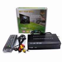 Kit 10 Conversor Tv Digital H D T V C/ Gravador *