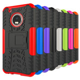 Case Anti Shock Celular Motorola Moto G5 Xt1672 + Pelicula