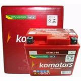 Bateria Komotors Biz 100-125/titan 150/bros/fan Es 5 Amperes