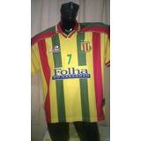 Camisa Do Sampaio Correia 2002 (placar) Usada Em Jogo