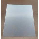 Chapa De Aluminío 1000 X 500 Mm - 0,5 Mm Espessura