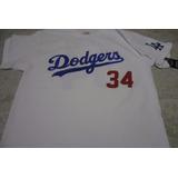 Playera Mlb Los Angeles Dodgers Fernando Valenzuela Brand