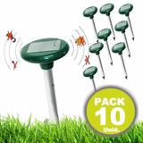 10 Repelente Ahuyentador Solar Mosquitos Y Ratones R5314