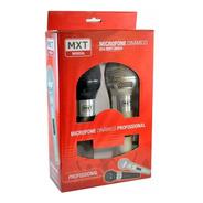 Microfone Barato Box Duplo Profissional + 2 Cabo 5metros Top