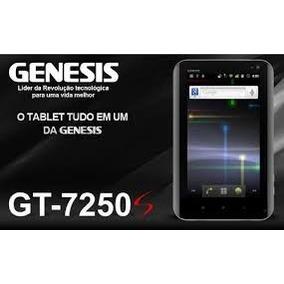Tablet Gênesis Tab Gt-7250s Gps,bluetooth, 3g Interno-preto