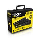 Pack 3 Microfonos Skp Capsula Alemana C/ Estuche