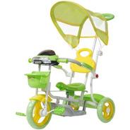 Triciclo Infantil Empurrador Passeio Motoca  Cobertura Sol