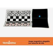 Ajedrez Magnetico Plegable De 20 Cm X 20 Cm - Ventajedrez