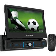 Dvd Positron Sp6730dtv - Retrátil 7/tv Digital/usb/bt/dvd/cd