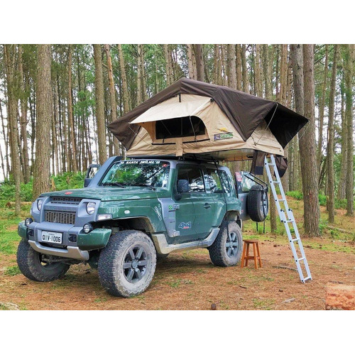 Barraca De Teto Automotiva Adventure Blue Camping 2a3pessoas