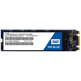 Oferta Ssd Western Digital Blue 1tb M.2 Sata 3 Wds100t1b0b
