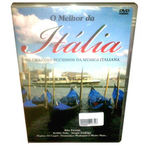 Dvd Melhor Da Itália Vol. 1 = 26 Sucessos Da Música Italiana