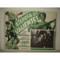 Rosita Quintana, Escuela De Valientes, Cartel De Cine