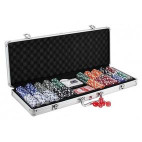 Maleta De Poker 500 Fichas Pk-500 Western Games