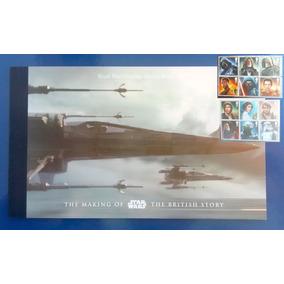 V 8638 Star Wars Livro Com 26 Selos 2015
