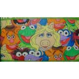 Muppets - Painel P/aniversario C/4 Bonecos Eva+saia Da Mesa