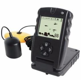 Sonar Portátil Pesca Fish Finder C/ Sonda Ultra-sônica Novo!