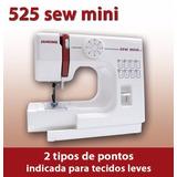 Maquina De Costura Janome Sew Mini 525 220 Volts