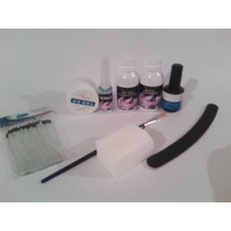 Unhas De Fibra De Vidro Com Todos Os Produtos Kit