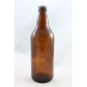 10 Garrafas De Cerveja Artesanal 600ml Vazias Novas C/ Tampa