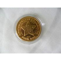 Moeda Usa Ouro 400 Cents-four Dolar 1879 [replica]