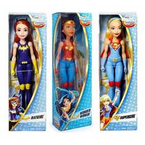 El333 Dc Super Hero Girl Wonder Woman Supergirl Batgirl 3pzs