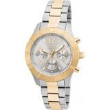Reloj Invicta 22305 Acero Plateado Y Dorado Mujer