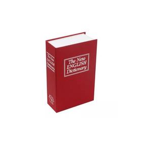 Caja Valor Camuflaje Forma De Libro Plastico 18 Cm