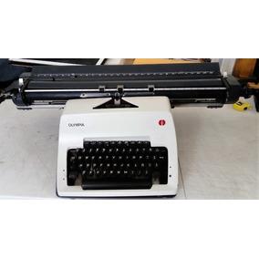 Excelente Maquina De Escribir Olympia Sg-3 Rodillo De 62 Cm