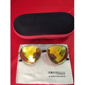 Boina Ferrovia De Sol - Óculos no Mercado Livre Brasil 54a3258e99