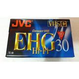 Fita Jvc Vhs-c Compact Vhs - Tc-30 Ehg Hi-fi - Nova Lacrada