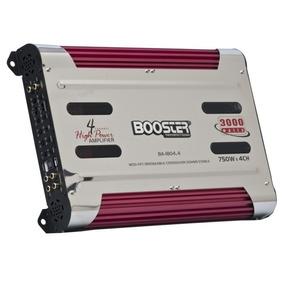 Modulo Amplificador Booster 3000 W Rms 4 Canais Ba-1804.4