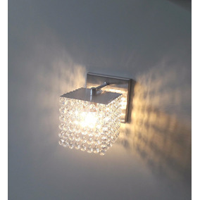 Arandela De Cristal Luminária Parede Mod. Balestri