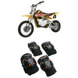 Mongoose Bmx Bike Gel Rodillera Y Codo