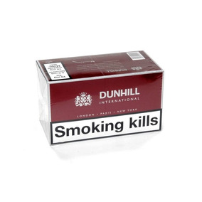 1 Carton Dunhill Box De 20 Impotados