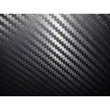 Vinil Tipo Fibra De Carbono Negro 100 Cm X 152 Cm