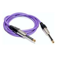 Cable Plug Plug Instrumentos 2 Mts Hamc Full Violeta