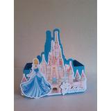 Cajas Castillo Princesas, Bella, Frozen, Cenicienta