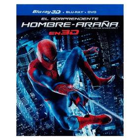 Br 3d- El Sorprendente Hombre-araña Super Set (br+dvd