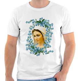Camisa Camiseta Personalizada Santa Católica Igreja Santo 1