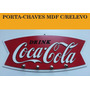 Porta-chaves Em Alto Relevo Coca-cola - 33x15,5 Cm - Novo!