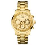 Relógio Guess Gc W0330l1 Dourado Garantia 12x Sem Juros