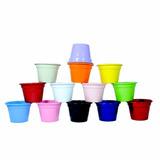 Vasos Em Alumínio Para Violeta 7 Peças