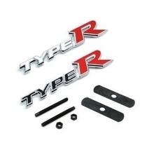 Emblema Type R De Grade Esportiva Honda Civic Ex Lx