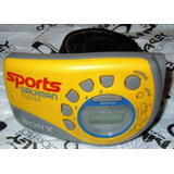 Vintage Sony Sports Radio Srf-m78 Digital Envio Incluido